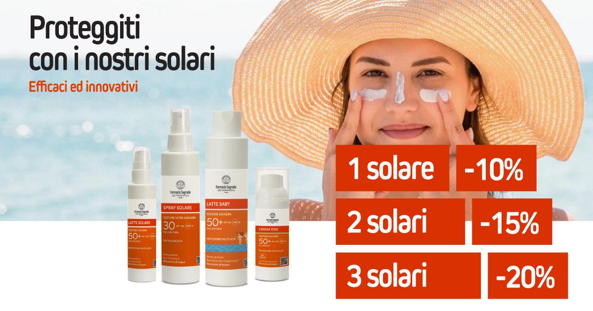 Proteggiti con i nostri solari