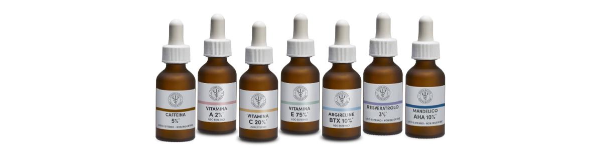 Farmacia Sagrada - Dermocosmesi naturale - Gocce di attivi concentrati