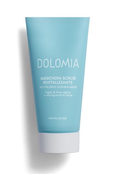 Farmacia Sagrada - Dolomia skincare - Maschera scrub rivitalizzante